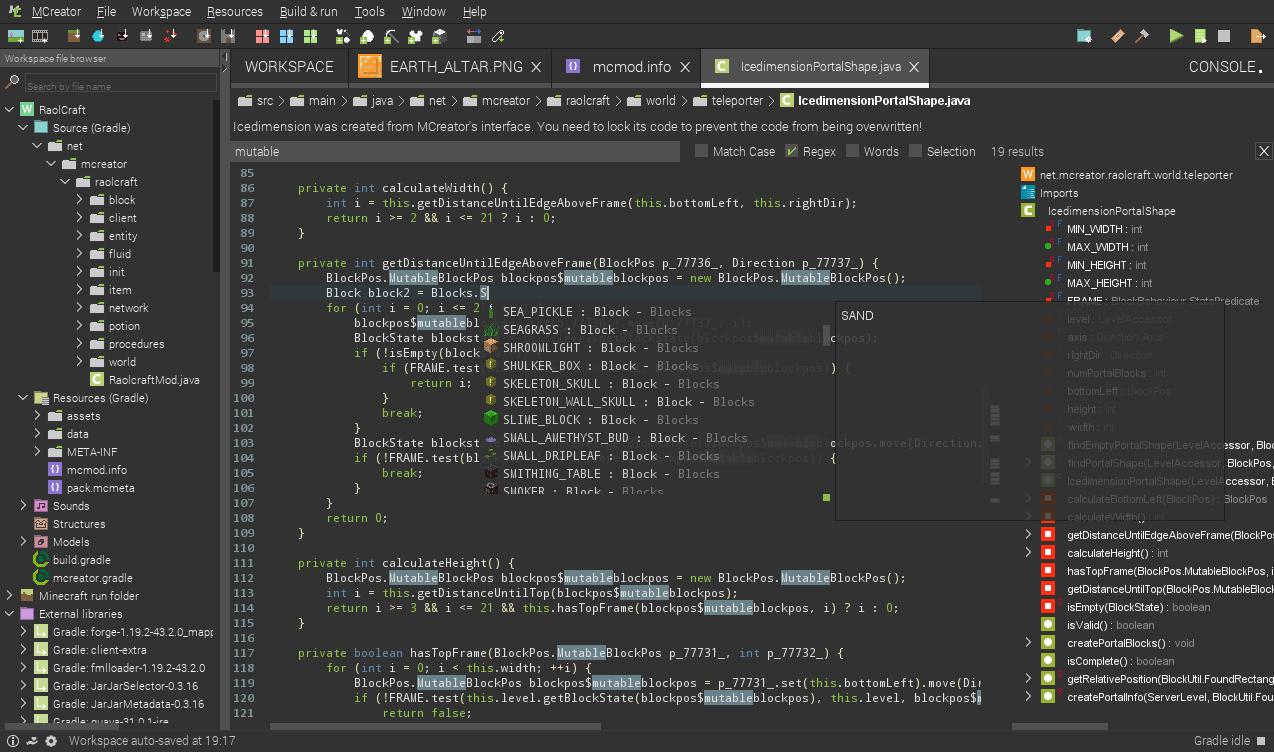 无需编程知识使用MCreator创建我的世界MOD