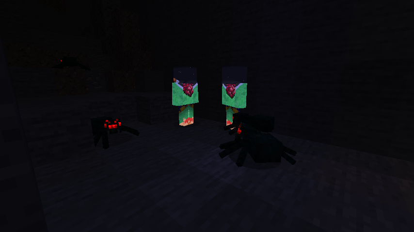 MCreator mod maker glowing mobs