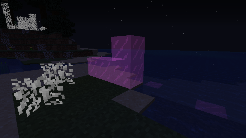 Emissive lightning blocks