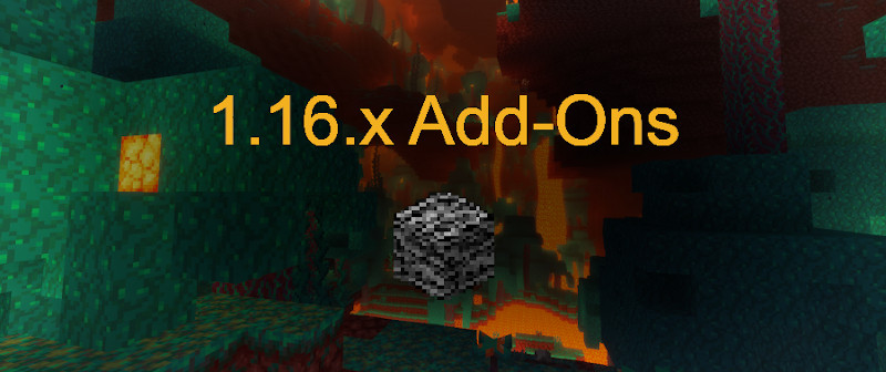 Minecraft Bedrock Edition 1.16 mod maker