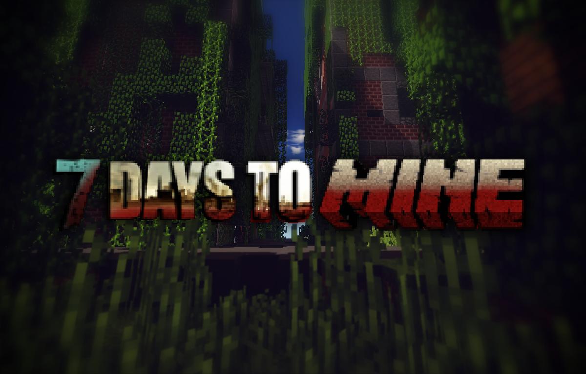 7 days to mine alpha 4 celebrating 4 years mcreator 7 days to mine malvernweather Choice Image