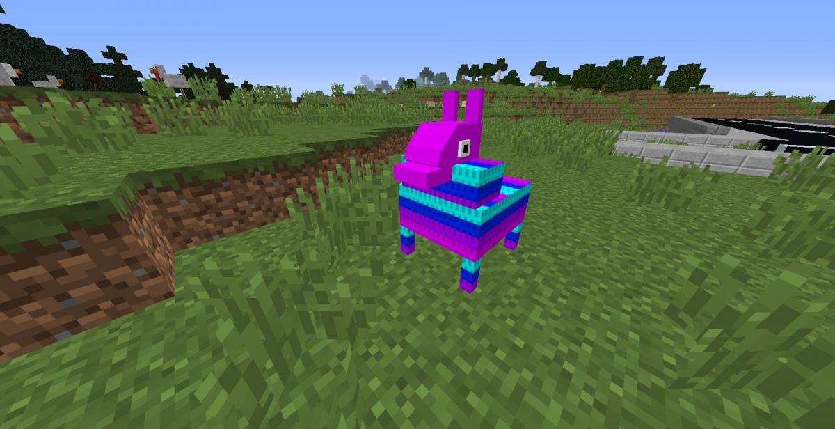 llama - fortnite mod minecraft 17 10