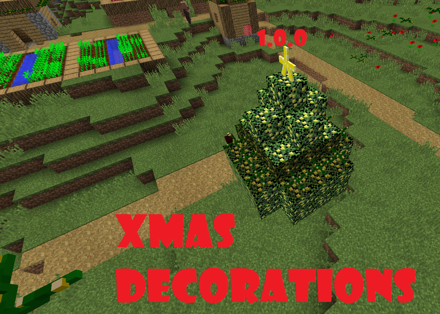Christmas Minecraft Decorations.Christmas Decorations Mcreator