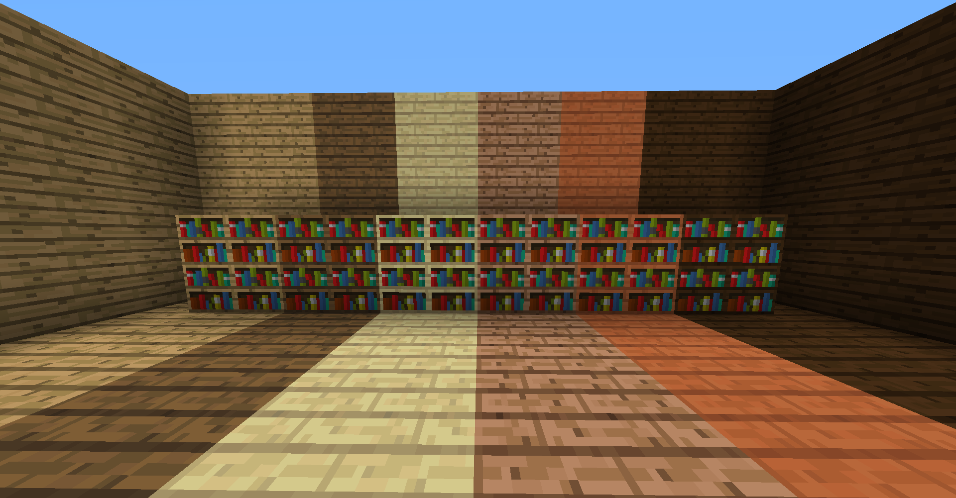 Minecraft Bookshelf Mod In Every Wood Type Mcreator