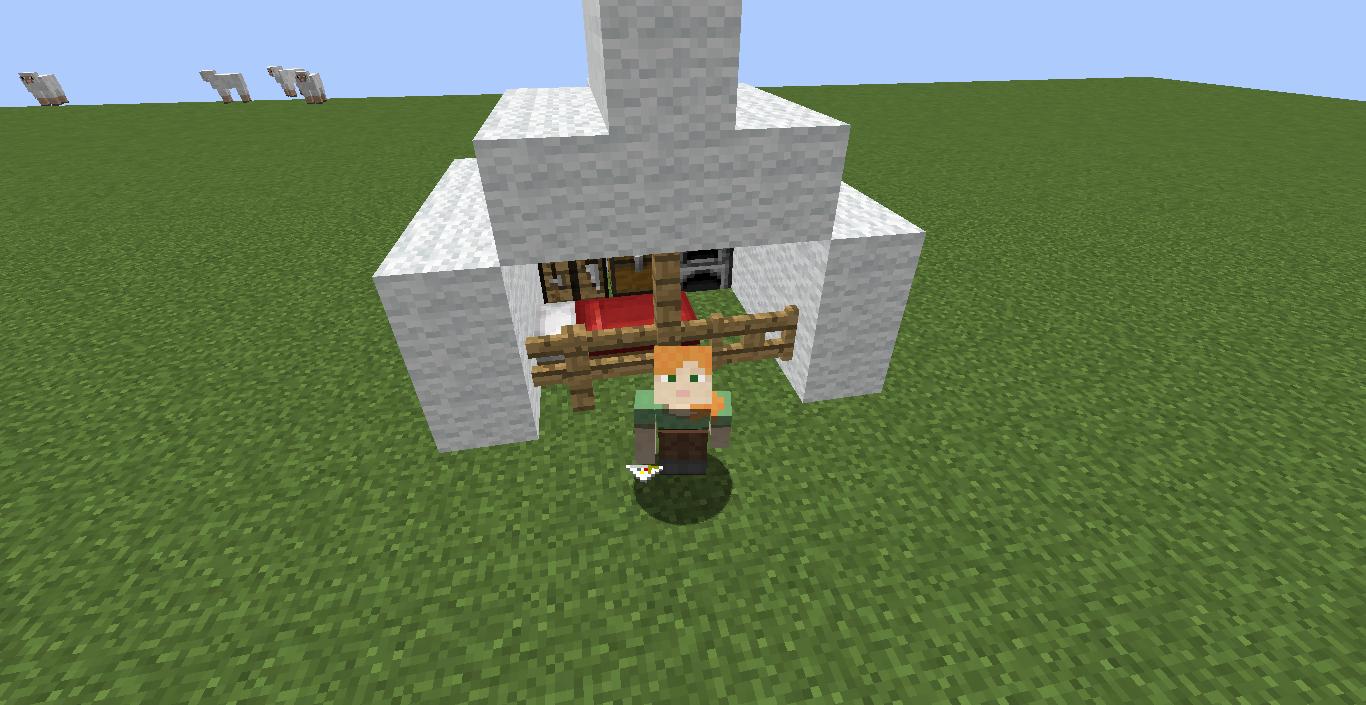 Panterakawaii S House Structure Mod Mcreator
