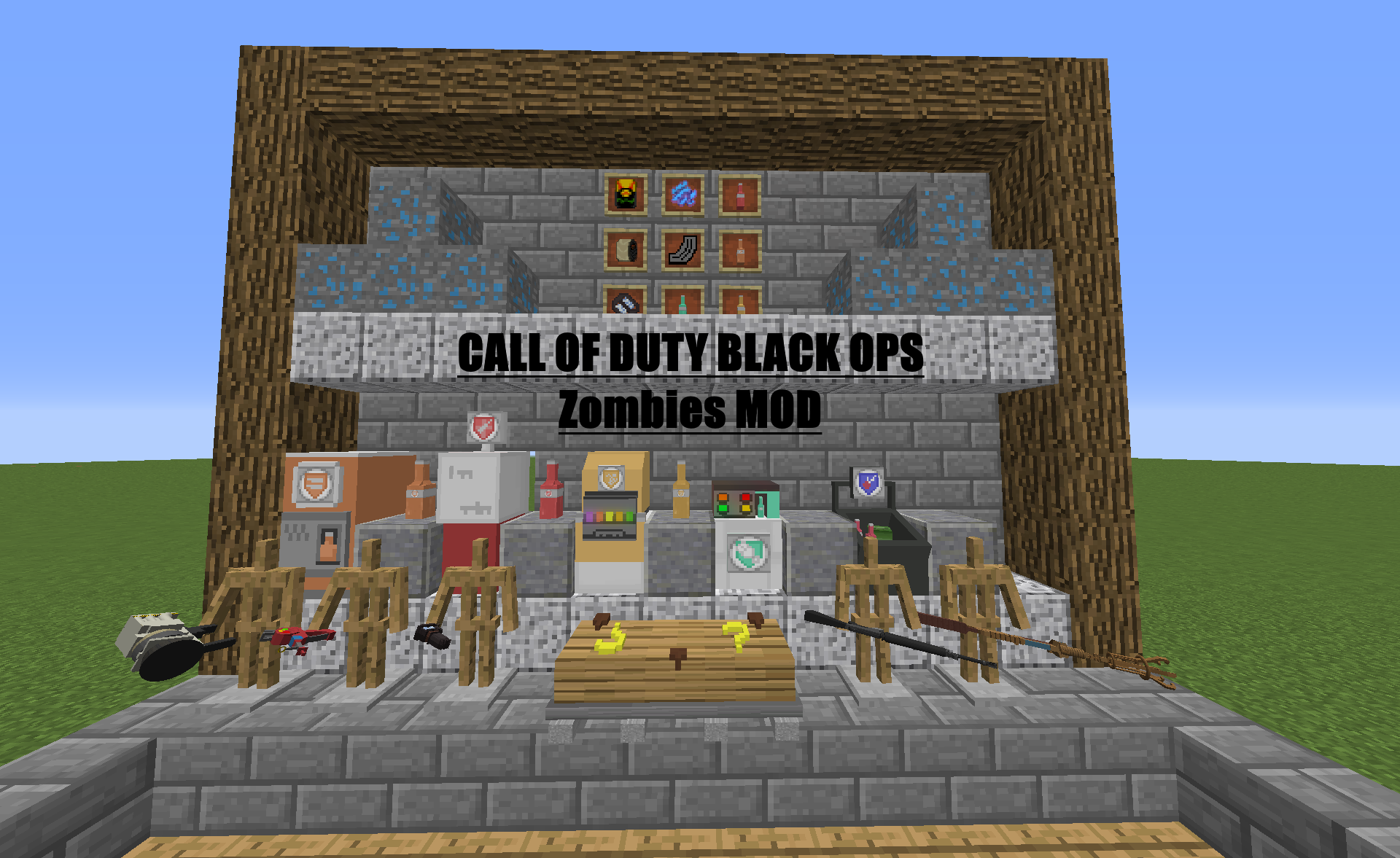 Call Of Duty Black Ops Zombies Mod Mcreator