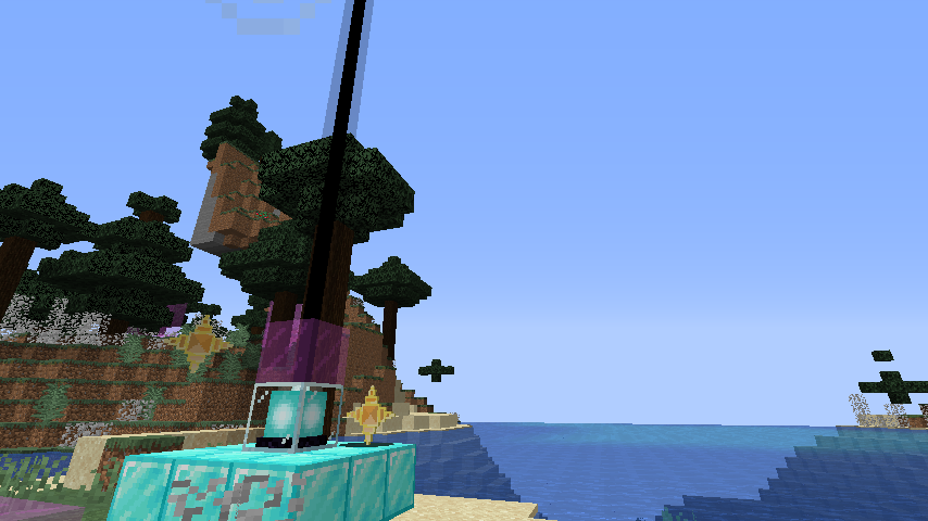 Custom beacon color modifiers in a Minecraft mod using MCreator