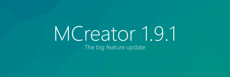 MCreator 1.9.1 - The big feature update