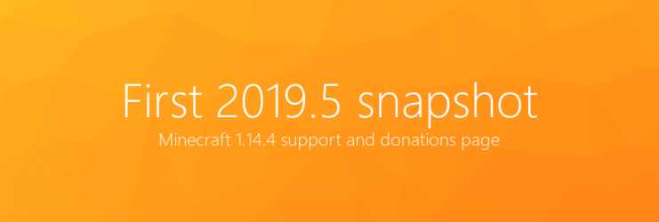Donations and first 1.14.4 snapshot