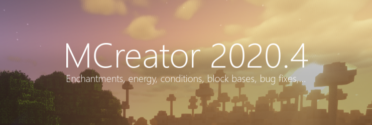 MCreator 2020.4 - The big summer update