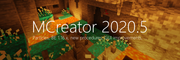 MCreator 2020.5 - The update of many features