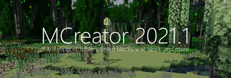 MCreator 2021.1 - The accidentally huge update