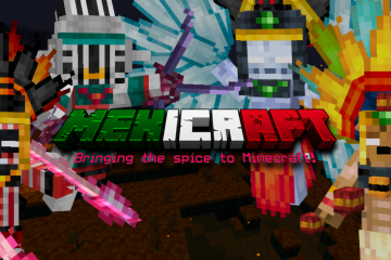 Mexicraft 1.2.0, now with an almost fully functional Mictlan dimension!