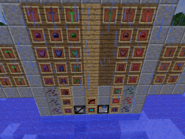 Some of the items and blocks of the mod in v1.1.1 [Recommended version]