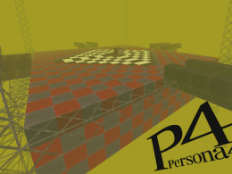 "Persona 4 ""TV World"" Lobby"