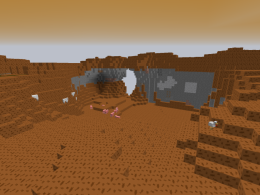 A picture of one of the three new biomes.