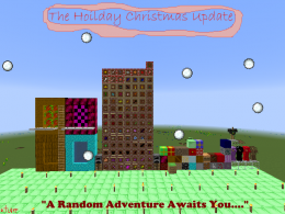 The Holiday Christmas Update.