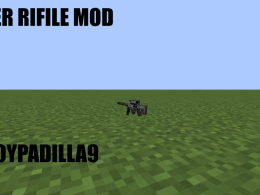 A mod with a gun and bullet