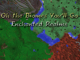 Oh The Biomes You'll Go!