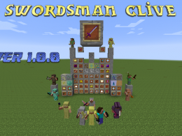 Everything in the Swordsman Clive mod!