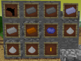 All 11 new items as of Alpha 1.2.0