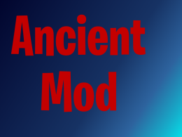 A Mod about Ancient things in Vanilla Minecraft