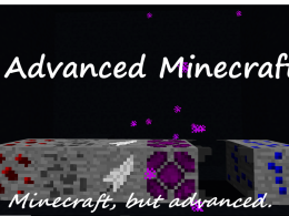 Advanced Minecraft