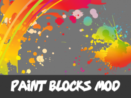 Paint Blocks Mod