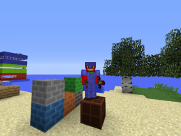 The mod adds new things to minecraft
