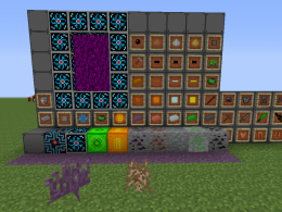New blocks and items!