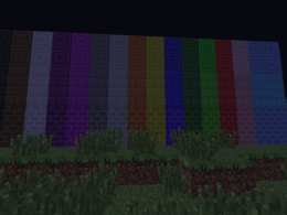 Bricks, Stone Bricks, and Chiseled Stone Bricks