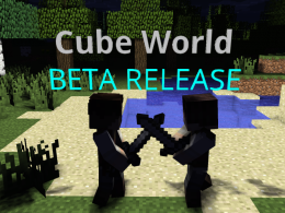 Cube World Mod for 1.12.2