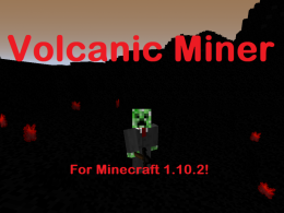 Explore the new Volcanic Biome!