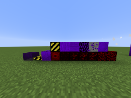 All the blocks included in this mod so far