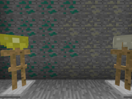 The first 2 ores and helmets