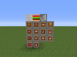 All the items and blocks in 1.1 alpha