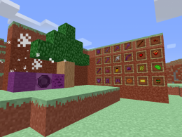 Many blocks, items and a new biome!