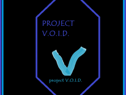 The Project V.O.I.D. pic