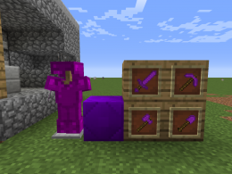 Amethyst Armor and tool set