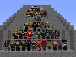 Just a few of the characters in this mod. [New Mysterio Update]