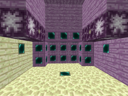 Nether, The End & Overworld Update