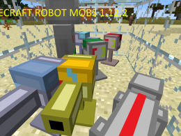 Robot Mobs are now in Minecraft
