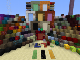 All blocks, portals, and igniters