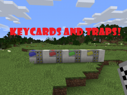 Keycards and Traps Mod