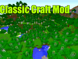 this is the classic craft mod