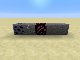 The first ores added.