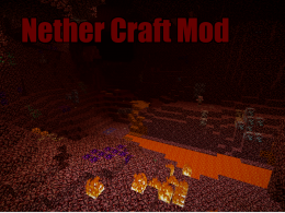 Nether Craft Mod