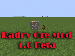 The ore that will drop when you break the ore block!