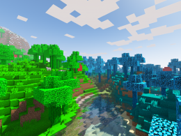 Green and Blue Biomes