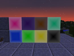 This picture shows gradient blocks